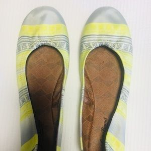 Colorful Print Lucky Brand Ballet Flats